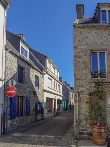 Bild: Typische Straße in Camaret-sur-Mer