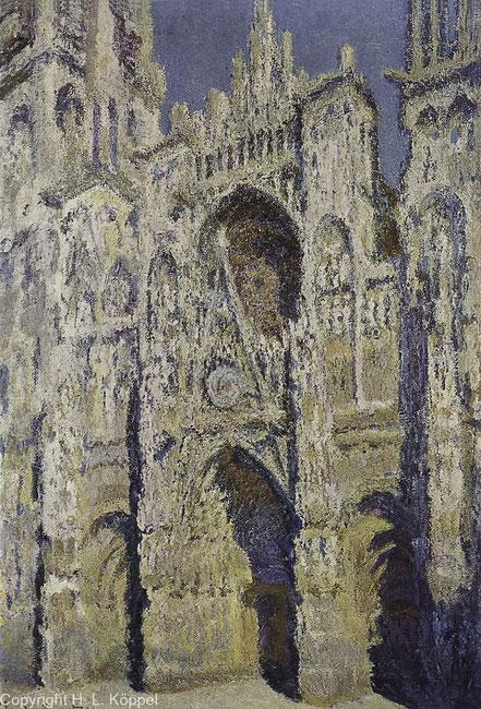 Bild: Kathedrale von Rouen nach Claude Monet