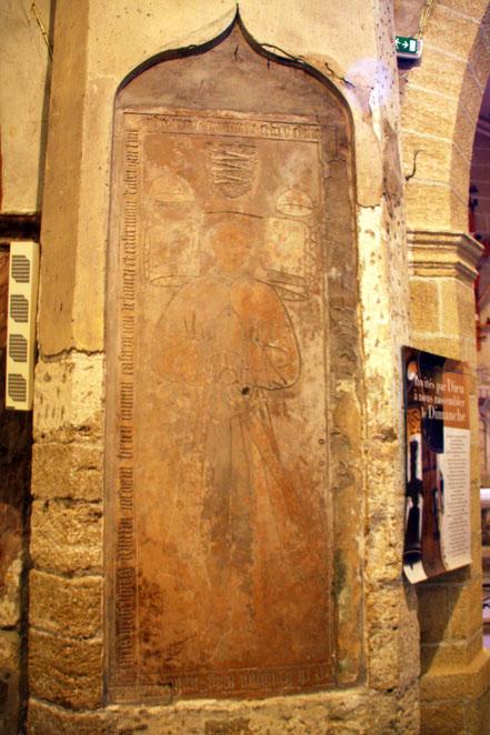 Bild: Wandfresce in der Kirche von Roquemaure