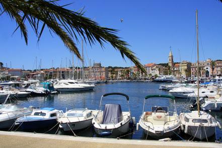 Bild: Sanary-sur-Mer, Yachthafen