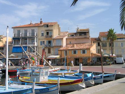 Bild: Sanary-sur-Mer, im Fischerhafen