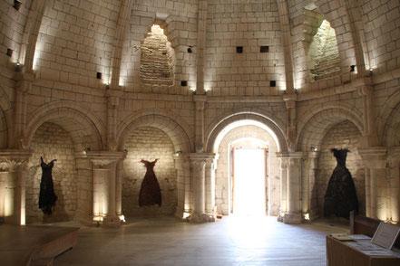 Bild: im Innern von Château Simiane-la-Rotonde