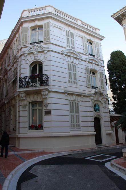 Bild: Villa in der Innenstadt von Monaco