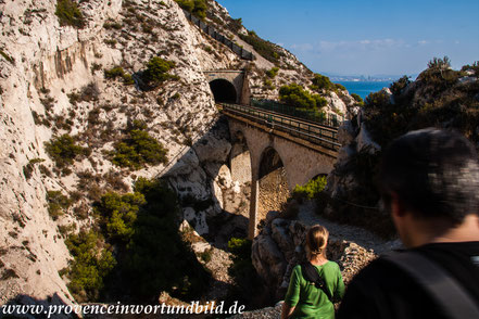 Bild: Wanderung an der Côte Bleue in der Calanque de l´Éverine