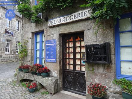 Bild: Boulangerie in Locronan, Bretagne