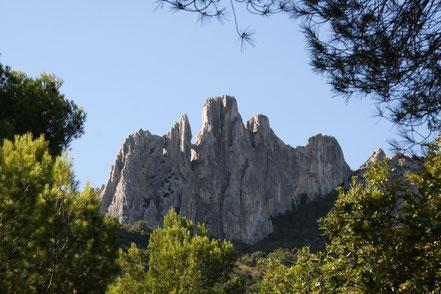 Bild: Wanderung in den Dentelles de Montmirail