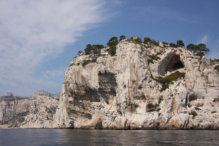 Bild: Point de Castel Vieil in den Calanques