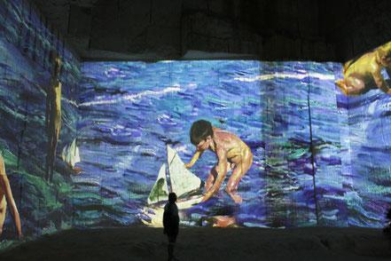 Bild: Carrières de Lumières in Les Beaux-de-Provence