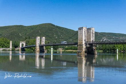 Bild: Hängebrücke bei Vivièrs