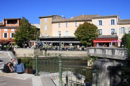 Bild: L´Isle-sur-la-Sorgue