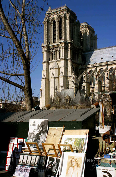 Bild: Bouquinisten in Paris