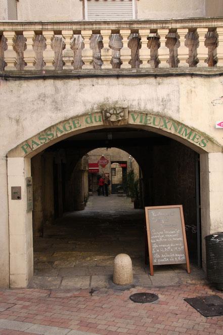 Bild: Altstadt von Mimes