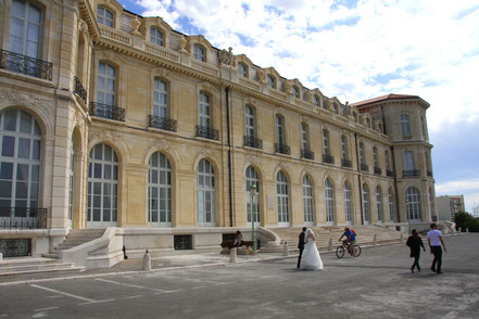 Bild: Rückseite des Palais du Pharo, Marseille