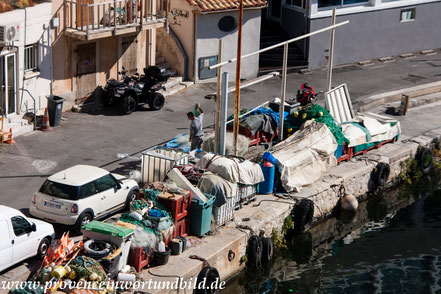 Bild: Marseille, Port du Vallon des Auffes