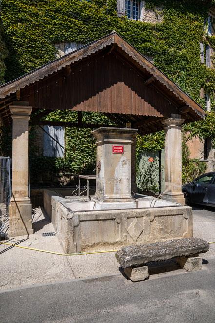 Bild: Malemort-du-Comtat im Département Vaucluse