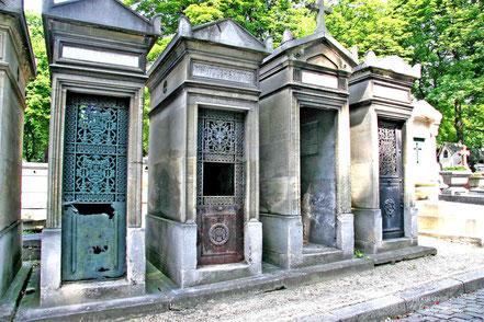 Bild: Cimetière du Père Lachaise in Paris