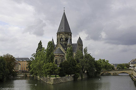 Bild: Temple Neuf in Metz