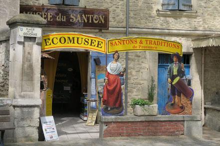 Bild: Mussée Santons in Fontaine-de-Vaucluse