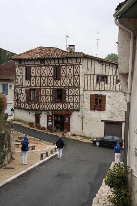 Bild: Fachwerkhaus in Nérac