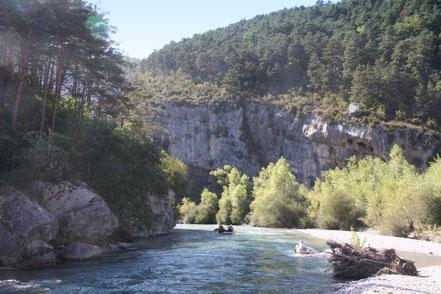 Bild: Wildwasserfahren auf dem Verdon