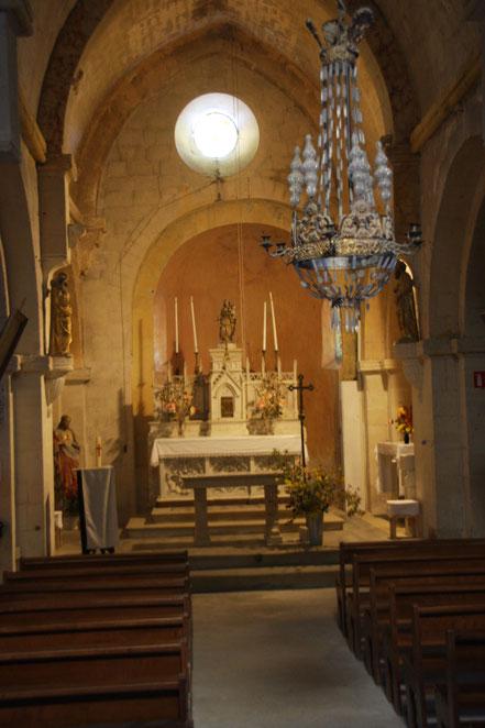 Bild: Kirche in Lacoste, Église Saint Trophime