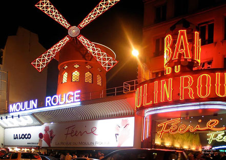Bild: Moulin Rouge, Paris
