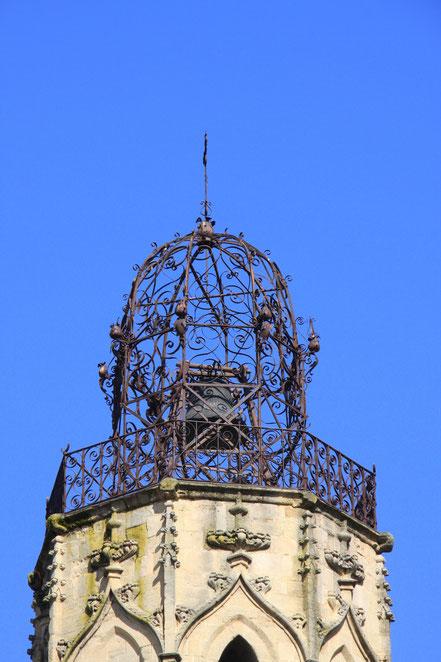 Bild: Glockenturm in Aix-en-Provence der Eglise du Saint-Eprit 18. Jh.