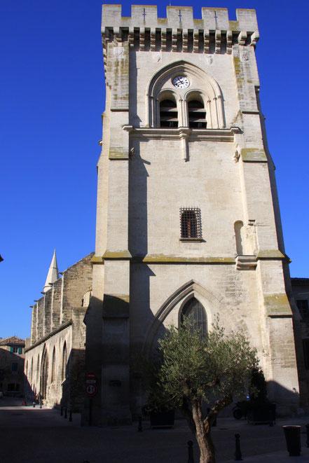Bild: Èglise Collégiale Notre-Dame in Villeneuve-lés-Avignon
