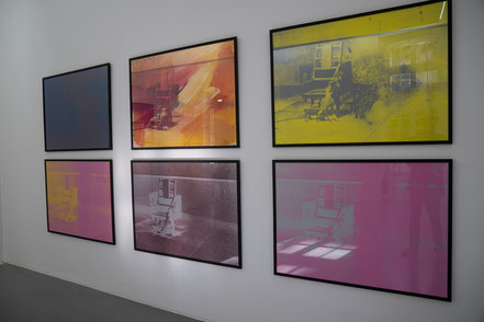 Bild: Collection Lambert in Avignon, hier Werke von Andy Warhol