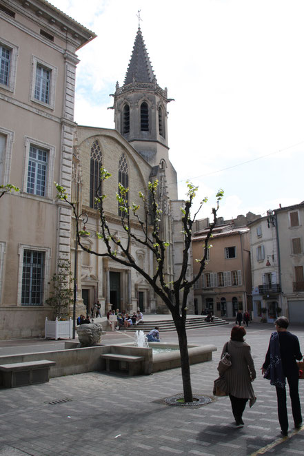 Bild: Kathedrale Saint Siffrein, Carpentras