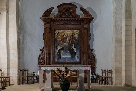 Bild: Église Saint-Sébastien in Goult, Vauc luse, Provence