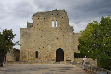 Bild: Burg von Crestet