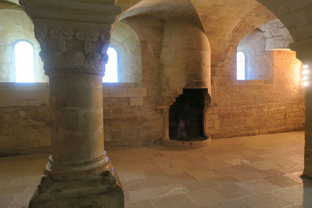 Bild: Abtei Notre-Dame de Sénanque, Calefactorium
