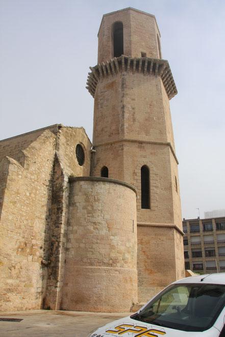 Bild: Kirche Saint Larent in Marseille