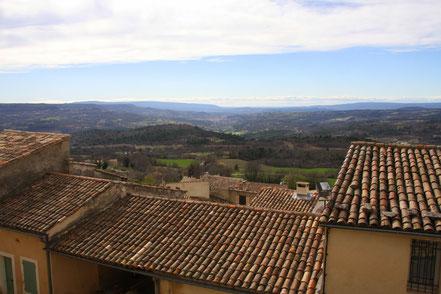 Bild: über den Dächern von Caseneuve