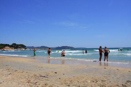 Bild: am Strand von La Ciotat