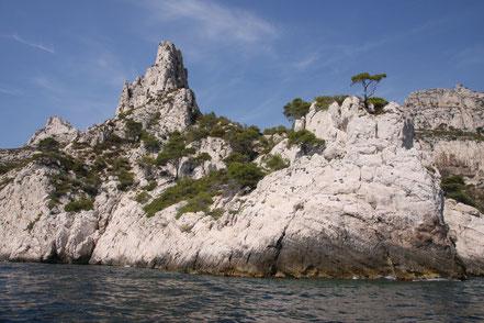 Bild: Cap Sugiton vor der Calanque de Sugiton