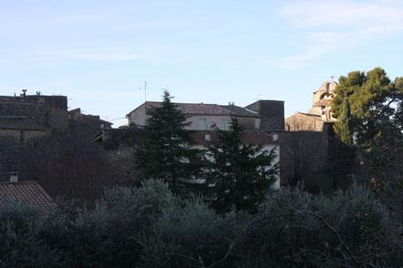 Bild: Stadtmauer in Robion