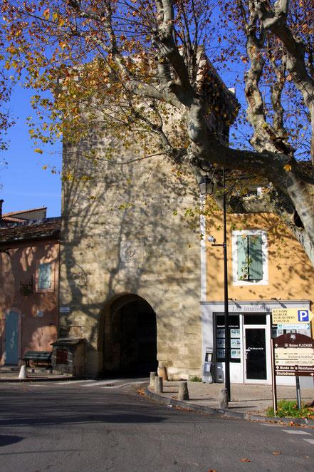 Bild: Porte Saint Gilles, Pernes-les-Fontaines