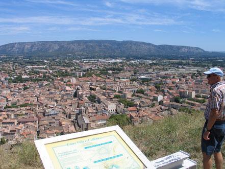 Bild: Blick auf Cavaillon von Saint Jacques