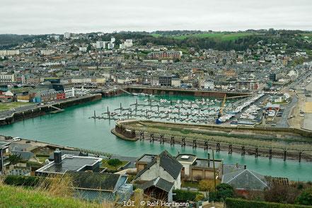 Bild: Hafen Fécamp