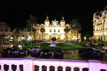 Bild: Casino von Monte Carlo am Abend
