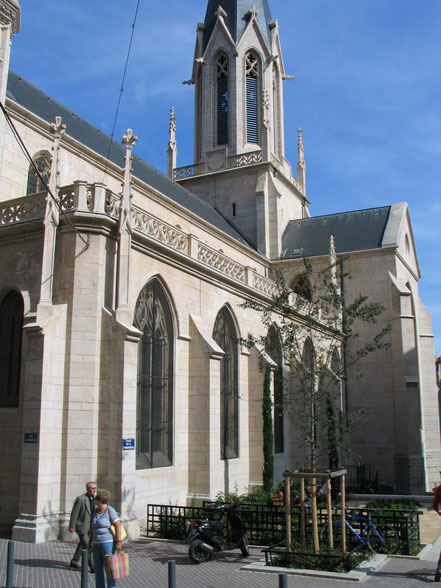 Bild: Kirche Saint-Georges in Lyon
