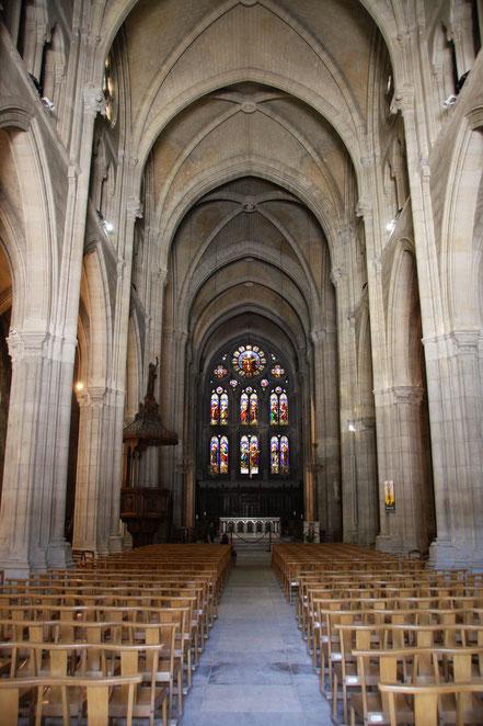 Bild: Die neugotische Kirche Saint-Baudile in Nimes