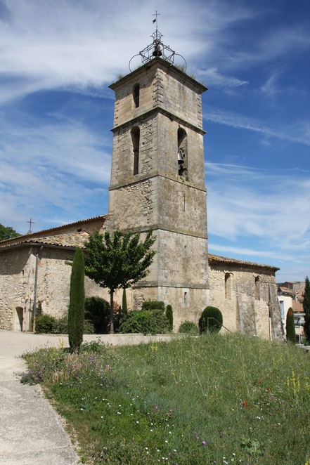 Bild: Eglise Saint-Michel in Céreste