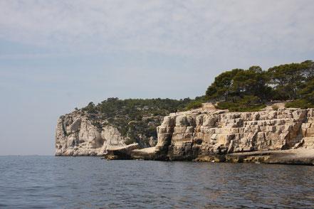 Bild: Calanques bei Cassis