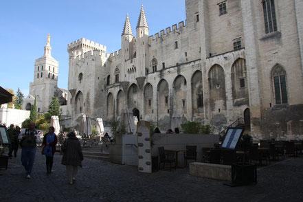 Bild: Avignon Papspalast