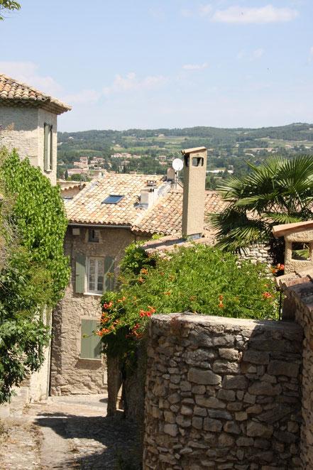 Bild: Altstadt von Vaison-la-Romaine