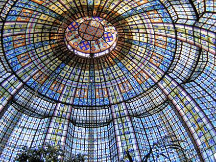 Bild: Art-Deco-Kuppel im Printemps
