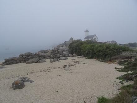 Bild: Nebel bei Poullenou